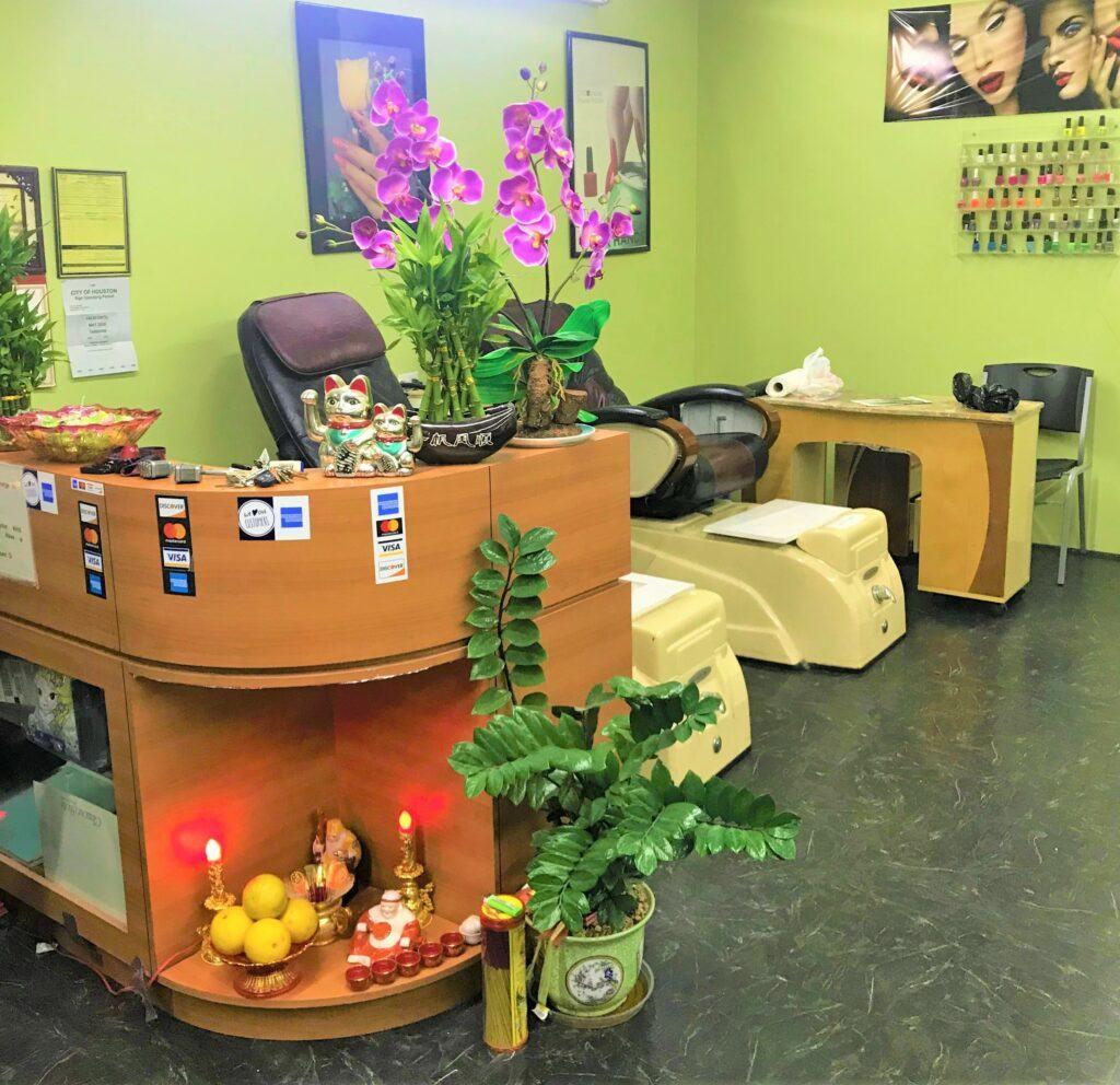 Hair By Johnny Hair Salon Reception Desk